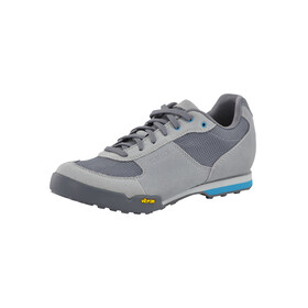 Giro Petra VR Shoes Women titanium/blue jewel